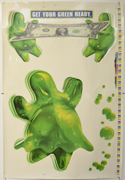 FLUBBER Cinema Window Cling Poster (D)
