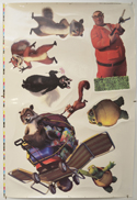 Over The Hedge <p><i> (Cinema Window Cling) </i></p>